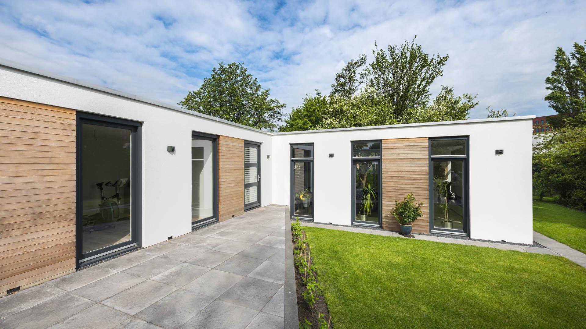 Architectuur nootdorp gooland renovatie aanbouw interieur bungalow 3 studio d11 - Architectuur renovatie ...